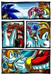 Tails And Dr. Eggman by darkspeeds