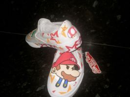 Paper Mario Vans side on by VeryBadThing