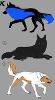 Wolf Adopts-five points by werewolftg