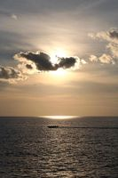 Lonely boat by Punkybrewster80