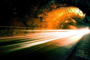 Inside of the tunnel by tanyafrausto