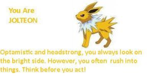 im a jolteon :D by babyboy1234