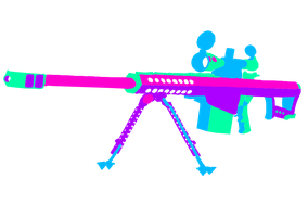 Barrett 50.Cal Colored by Pow3rade