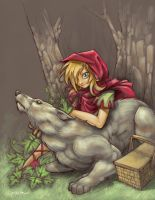 Little Red Riding Hood by Neekou