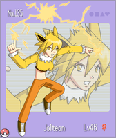 Pokemon Gijinka No.135 Jolteon by flaming-albatross