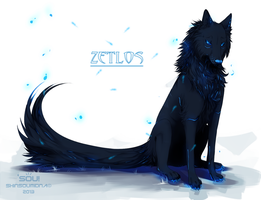 Zetlos -Sitting- by SouOrtiz