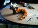 Molten Dragon Miniature by SoLong-AndGoodnight