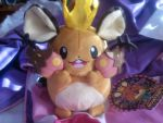 Pokemon Center Spookyparty Dedenne plush by SkunkyRainbow270