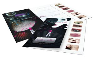 makup brochure by designcat