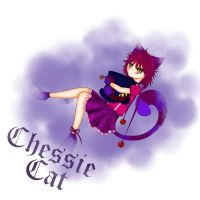Cheshire Cat Nekomimi 2 - digicolour by SweetCatMint