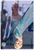 OUAT Card Elsa by jeorje90