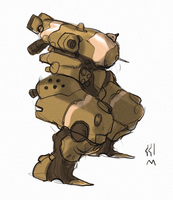 Mech 2 by muzzoid