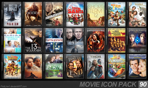 Movie Icon Pack 90 by FirstLine1