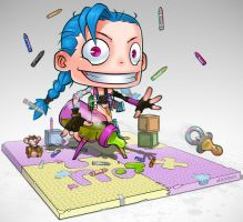 Little Jinx by daimontribe