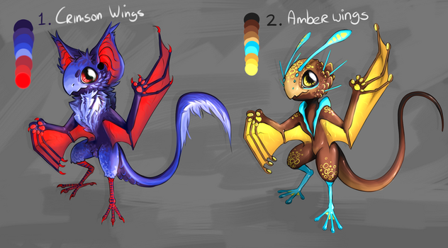 [CLOSED] Adopt Auction : Wing colour by BelieveTheHorror