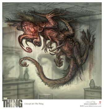 The Thing 2.0 by MIKECORRIERO