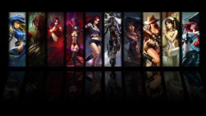 LoL Female Wallpaper by wonkaman666