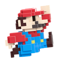 8-bit Mario Smash Style 3/8 by Nibroc-Rock