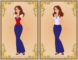 Racheal in different pairs 1 by warriormoonnight