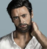 Hugh Jackman by Saryetta86