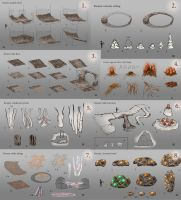 Kwama mine assets by lukkar