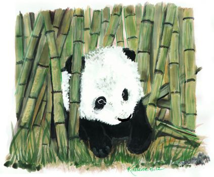 Baby Panda by Tolkein-Lady