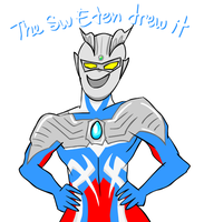 Everyone loves Ultraman Zero by sw-eden