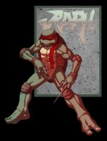 TMNT:Raph quick colors by FooRay