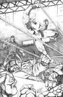 Mad Dog Promo Pencils by acarabet