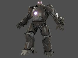 Iron Monger test render by CubicalMember