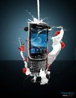 Blackberry Torch 9800 - Advert by georgfx