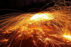 Trick Photography - Steel Wool 4 by winchesterstudios