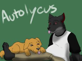 A Fur and His Dog by KampferWolf
