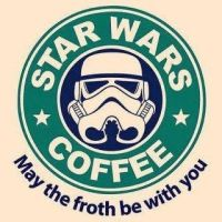 star wars coffee by RawrsNGrrs