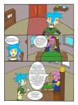 My Life as a blue haired sorceress page 19 by epic-agent-63