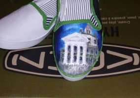 WIP haunted mansion shoes by Maurri