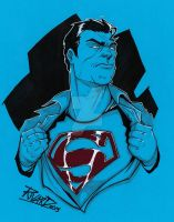 Superman Sketch by NationalGeo