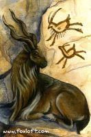 Markhor by Foxfeather248