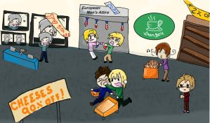 APH Black Friday Shopping by Artemis-FowlII