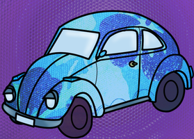 Funky Beetle by Chloemew4ever