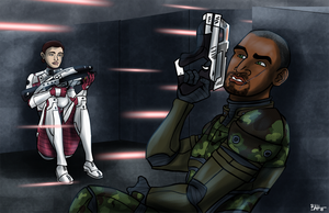Bioware Couples - Warriors by TheDalishRanger