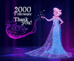 2000 Followers on Facebook! by Katikut