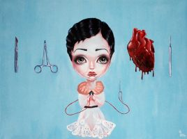 Open Heart Surgery by Mai-Ja