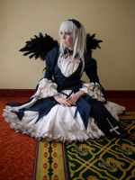 Rozen Maiden - Suigintou 4 by Rose-Pastel