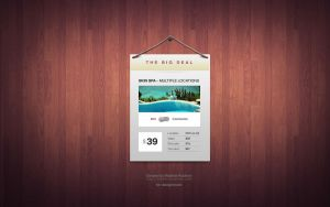 The Big Deal - Free Elegant Coupon Window (PSD) by ProRock