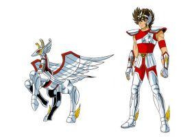 Pegasus first cloth in LC by FlyingKirin