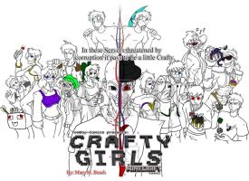 Craftygirls Cover .:WIP:. by MidNight-Vixen