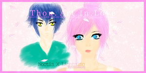 Thou Art In Love - Lightning x Noctis Cover 2 by iiloveking