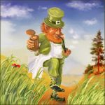 leprechaun by Elena-nenz