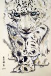 Crouching Leopard by ZhaoT